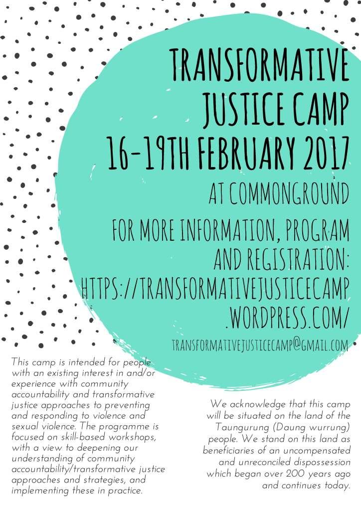 transformative-justice-camp-16-19th-february_2017